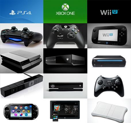 consolas de videojuegos recientes