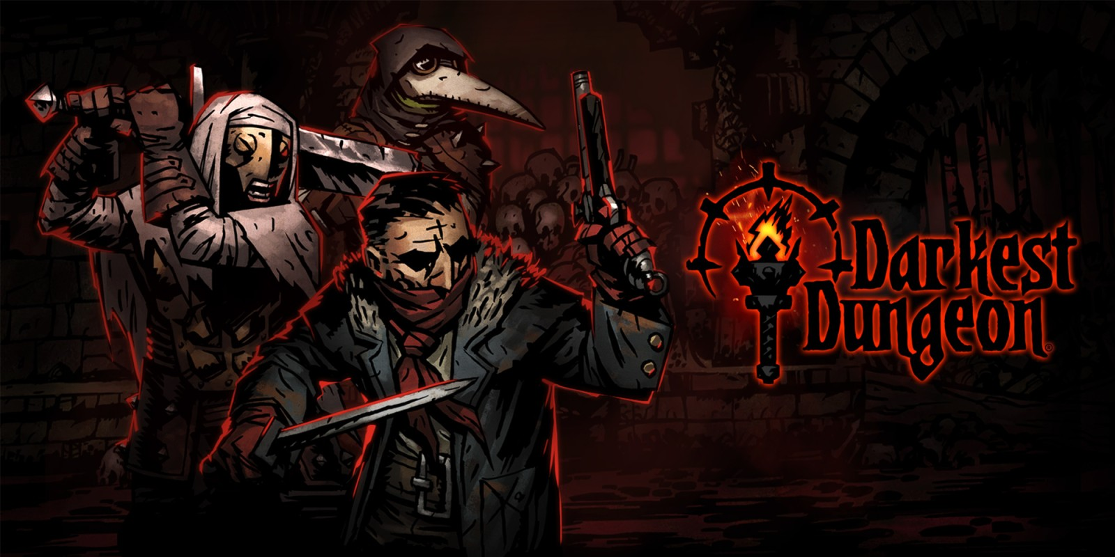 Portada Darkest Dungeon 1