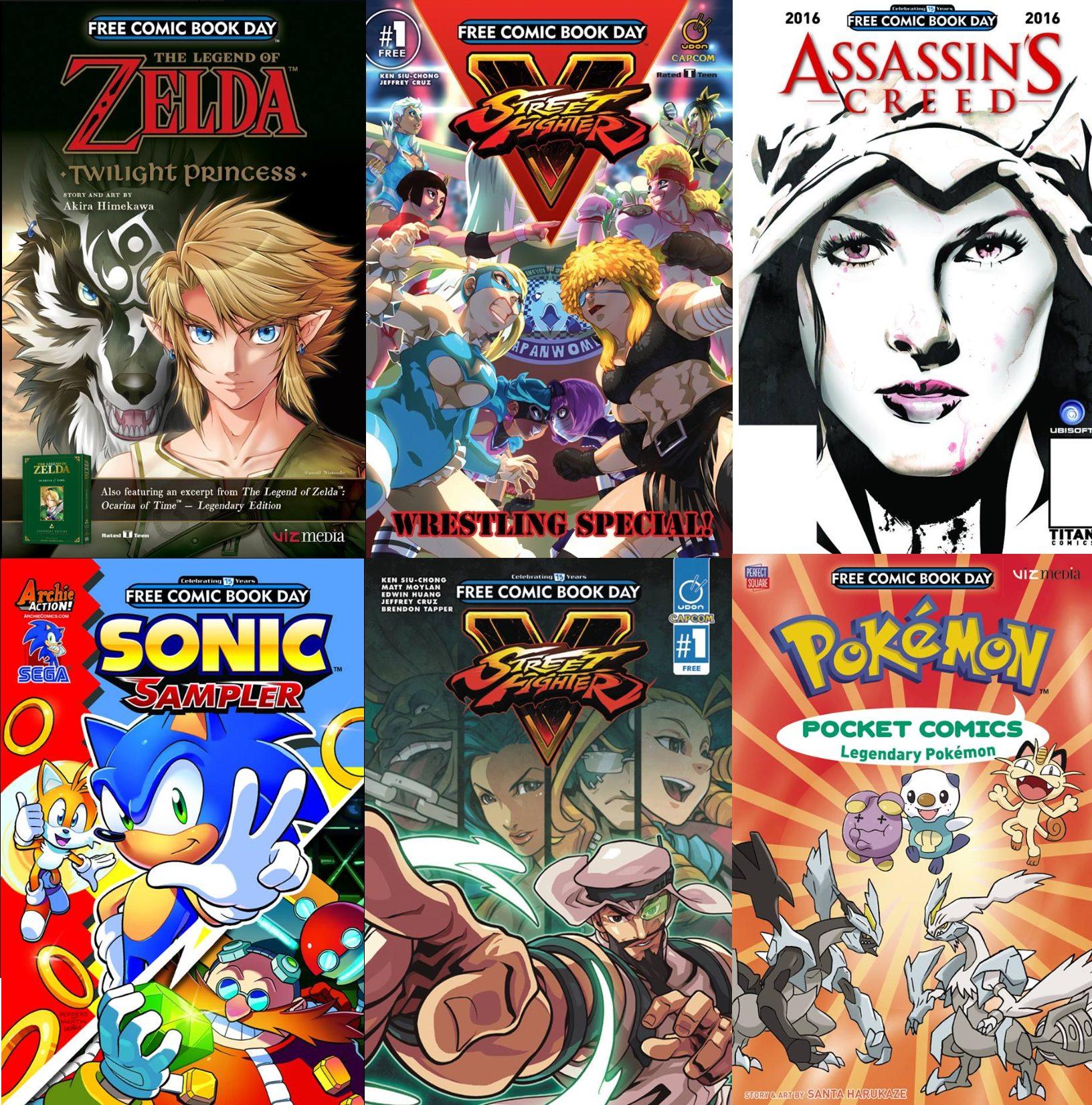 Desde Zelda hasta Street Fighter han habido opciones