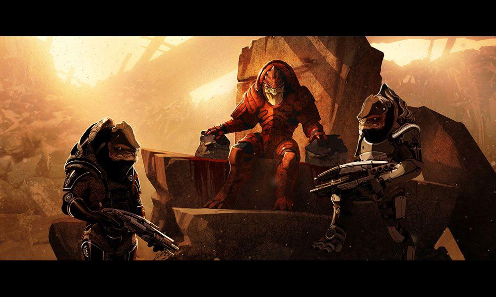 Proveniente de la saga Mass Effect