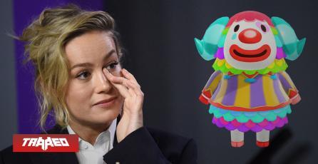 Brie Larson es un payaso según test de personalidad en Animal Crossing