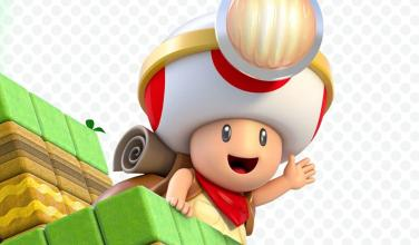 ¡El Escuadrón Toad regresará en <em>Super Mario 3D World</em> para Switch y será jugable!