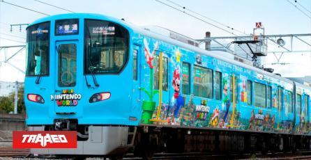 Japón tiene nuevo tren de Super Nintendo World
