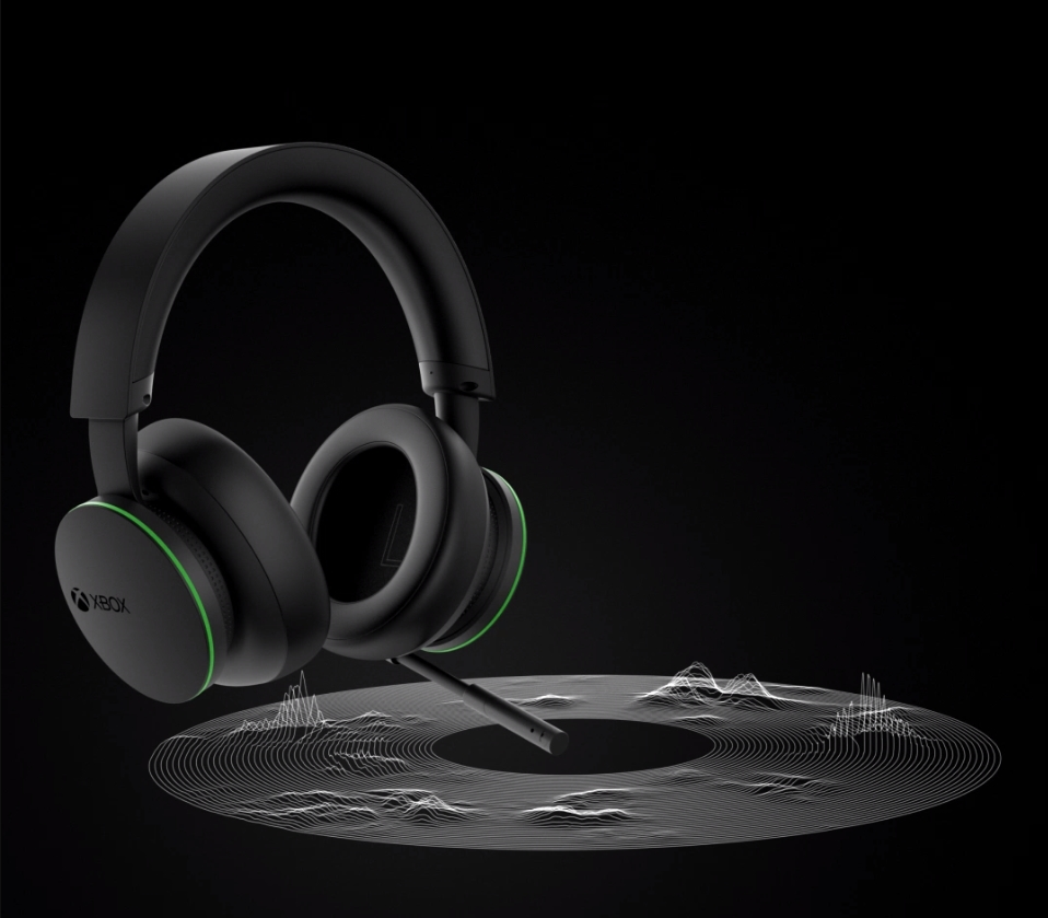 This is the Xbox Wireless Headset