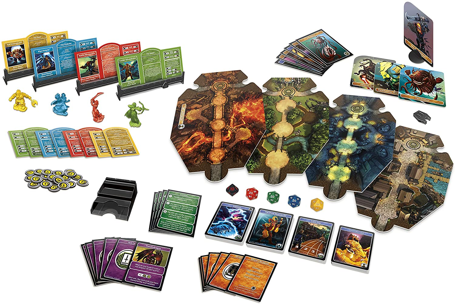Hasbro Gaming Dungeons & Dragons Adventure Begins