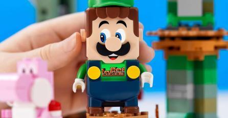 LEGO Super Mario: ¡el set de Luigi es oficial! Ya tiene fecha y precio