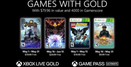 "Xbox - Tráiler ""Games with Gold"" de Mayo"
