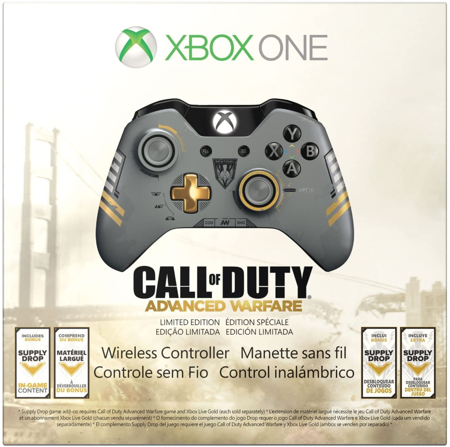 Control Xbox One Call of Duty: Advanced Warfare