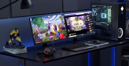 Nuevo monitor HP mejorará aspecto de los juegos con un modo Remaster