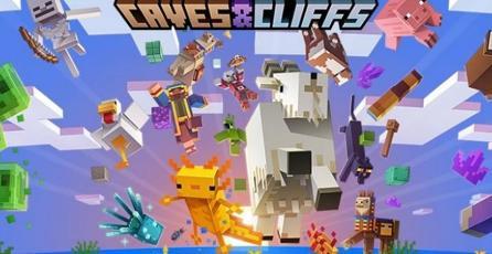 <em>Minecraft</em>: la primera parte de <em>Caves & Cliffs</em> ya tiene fecha de estreno