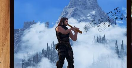 Conoce Skyrim's Got Talent, un mod que te permitirá progresar como músico en el RPG