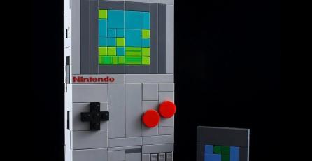 Transforman un NES de LEGO en un Game Boy que en realidad es un Transformer