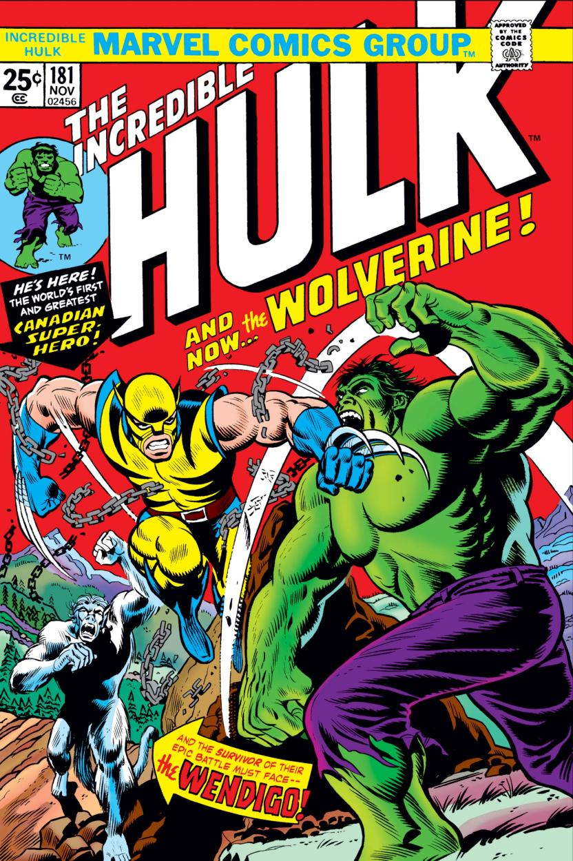 Cover of issue 181 of The Incredible Hulk