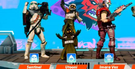 Comparten las primeras imágenes del free-to-play <em>Star Wars: Hunters</em>