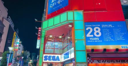 Cientos de fans se reunieron para despedir una popular sala de arcade de SEGA